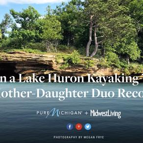 On kayaking mighty Lake Huron