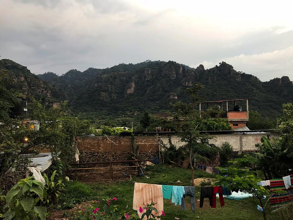 Amatlán, Morelos, Mexico, sky, darkens, Megan Frye, ethical travel