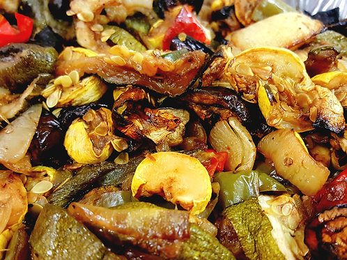 Roasted Vegetables w/ Balsamic Glaze