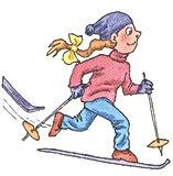 аудиокурс к учебнику английского языка верещагина. The fifth lesson, ski. Рисунок 10. 3 класс. Урок 5. Упр 1