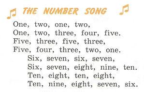 английский язык з класс верещагина притыкина. Exercise 8, the number song. 3 класс, урок 2, упр 8
