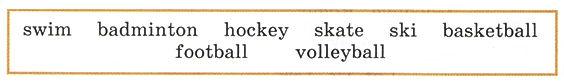 аудиокурс к учебнику английского языка верещагина. The fifth lesson, words.  Рисунок 3. 3 класс. Урок 5. Упр 1