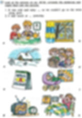 Look at the pictures on pp. 49-50, complete the sentences and match them with the pictures. Гдз по английскому языку 3 класс верещагиной сайт