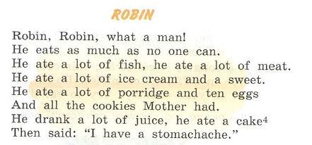 Стихотворение Робин (Robin) на английском верещагина. Exercise 7. Robin. Рисунок. 3 класс, урок 25, упр 7