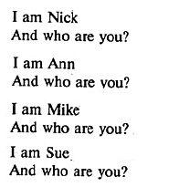 Гдз по английскому языку 1 класс верещагина 6 урок упражнение 3 аудио  who are you?