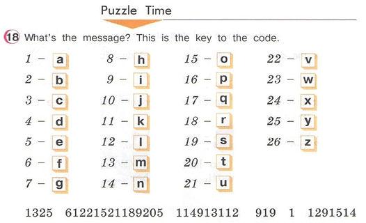 Puzzle time Верещагина 2 частьурок 47 ответы