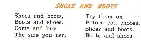 Верещагина стихотворение Shoes and boots перевод и слушать звук, прослушать аудиозапись, диск.