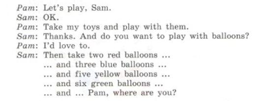 английский язык самоучитель. Where is the Pam-2. Рисунок. 3 класс. Урок 3, упр 7