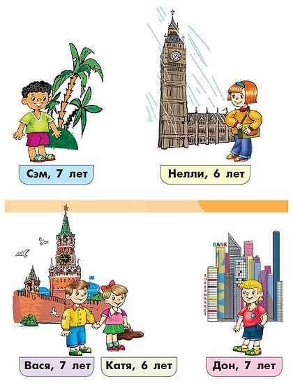 английский язык 3 класс верещагина 12 урок упражнение страницы учебника 24-25