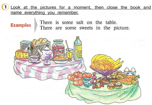 гдз 3 класс английский язык учебник Look at the pictures for a moment, then close the book and name everything you remember