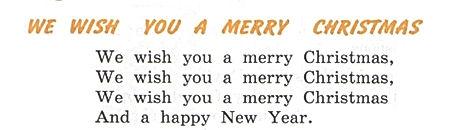"""we wish you a merry christmas"" Верещагина Притыкина."