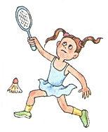 аудиокурс к учебнику английского языка верещагина. The fifth lesson, badminton. Рисунок 5. 3 класс. Урок 5. Упр 1