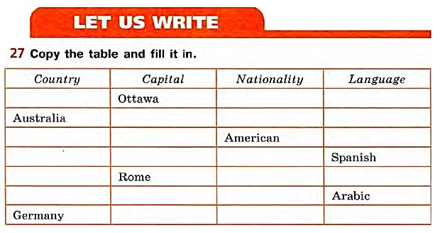 Английский язык 5 класс домашнее задание верещагина