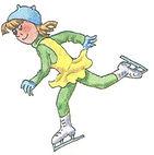 аудиокурс к учебнику английского языка верещагина. The fifth lesson, skate. Рисунок 11. 3 класс. Урок 5. Упр 1