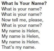 Песня What is your name?  Послушать песню аудиозапись 28