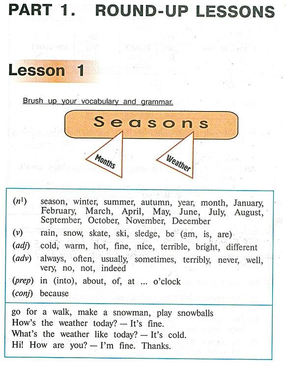 аудиокурс урок 1часть 1 по английскомуязыку Верещагиной 4класса и учебникс ответами