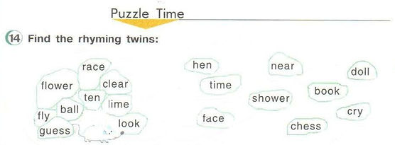 puzzle time ответы 3 класс верещагина