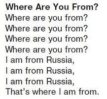 Песня Where are you from? Откуда ты?  1 класс Верещагина слушать трек 20
