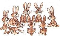 английский язык верещагиной. Exercise 4, hares. 3 класс, урок 2, упр 4