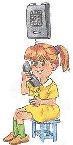 репетитор по английскому языку по программе верещагиной. Exercise 9, on the telephone, girl. 3 класс, урок 2, упр 9