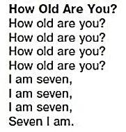 Песня How oldare you?  1 класс Верещагина слушать запись12