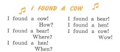 I found a cow верещагина 3 класс урок 41 упр 8