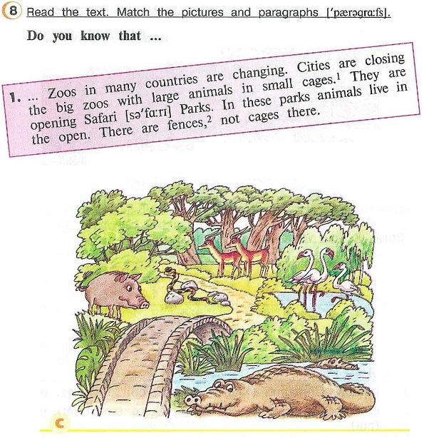 Гдз английскихязыков4классовверещагинойпритыкиной  Read the text. Match the pictures and paragraphs