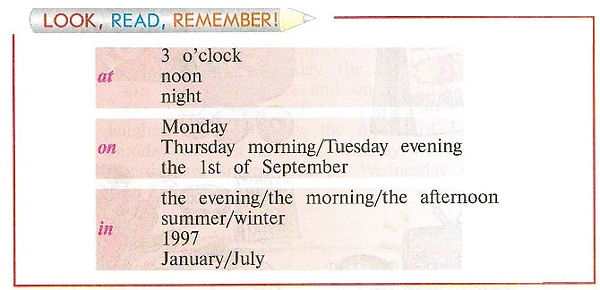 Look, read, remember. Верещагина 4 класс правила сборник
