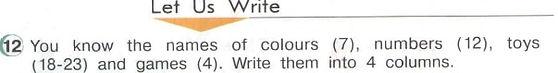student book 3.  Let Us Write 4-12. Рисунок. 3 класс. Урок 4, упражнение 12