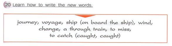 Гдз английский язык 4 класс верещагина афанасьева часть 2 упражнение 20  Learn how to write the newwords.