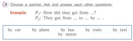 гдз англ яз 4 класс верещагиной афанасьевой Choose a partner. Ask and answer each other questions.