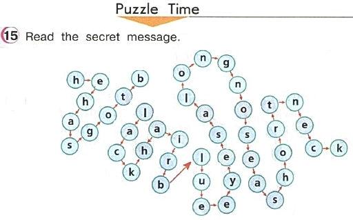 гдз по английскому языку Верещагиной Афанасьевой урок 46 Puzzle time