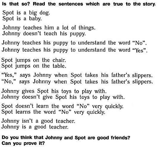 верещагина английский язык 3 класс reader. The new puppy. Part 3. questions. Рисунок 5. 3 класс, reader book. Урок 2
