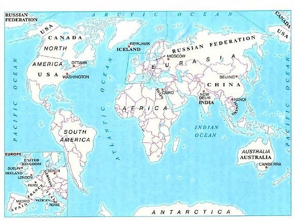 Текст Continents and Countries читать перевод и слушать онлайн