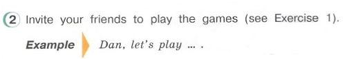 гдз английский язык 3 класс верещагина притыкина. Let's play game. Рисунок. 3 класс. Урок 4, упражнение 2.