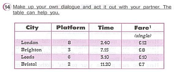 Гдз по английскому 4 класс верещагина часть 2 урок 33 упражнение 14.