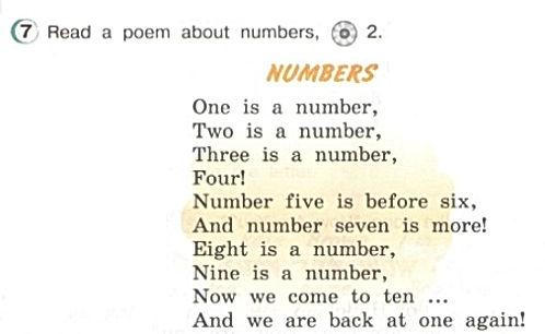английский верещагина ответы. Exercise 7. Numbers. 3 класс, урок 2, упр 7