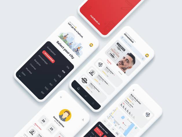 HairBook App UI