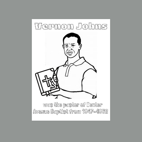Vernon Johns Coloring Pages