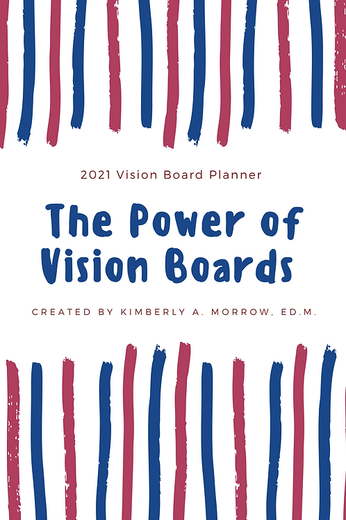 Power of Vision Boards 2021 Student Planner