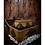 Thumbnail: Timeworn Wooden Jewellery Box