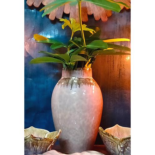 Pastel Pink Ceramic Vase