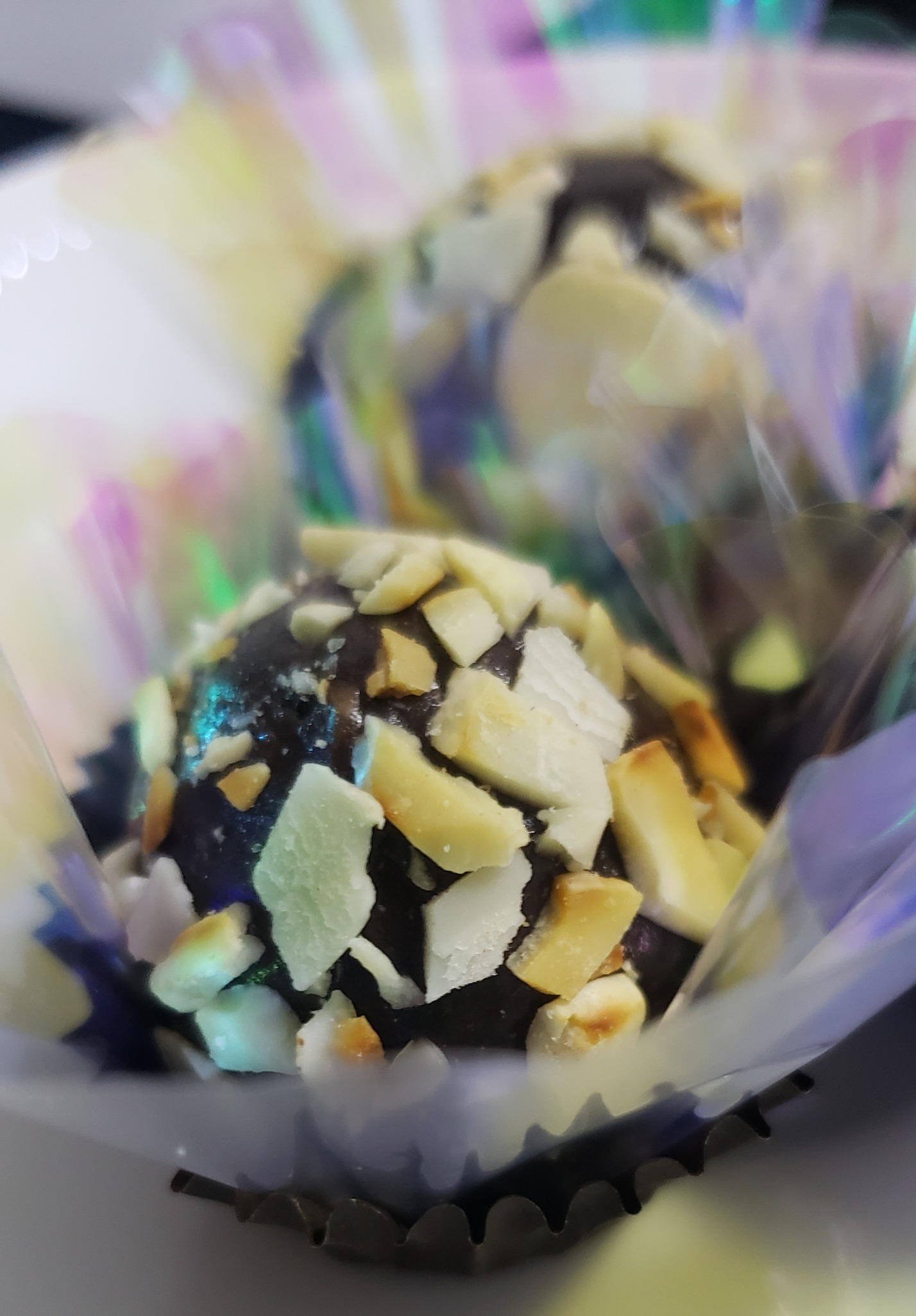 Doce de Chocolate com Amêndoas (sem lactose)