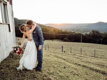 Krista + Andrew | Wedding | Kangaroo Valley {Nicole Orlowski | Southern Highlands Photographer}
