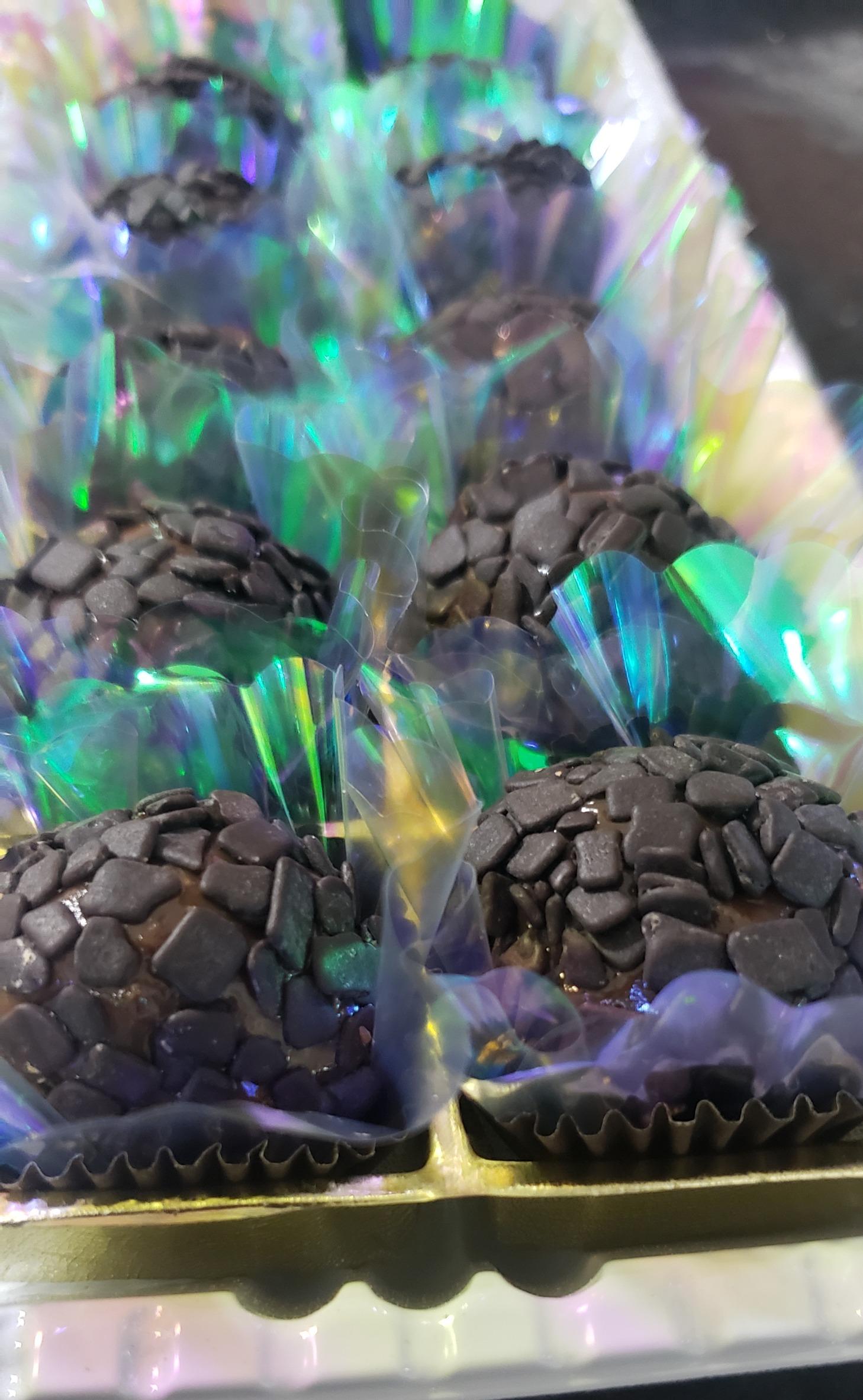 Brigadeiro de chocolate belga tradicional