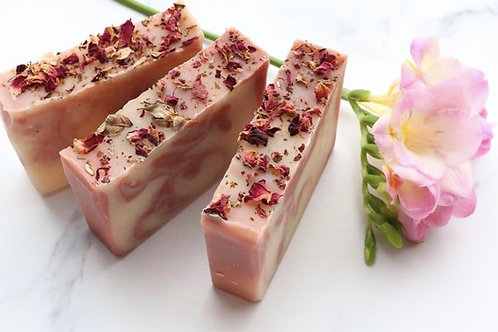 Cherry Blossom Cold Process Shea Butter Soap