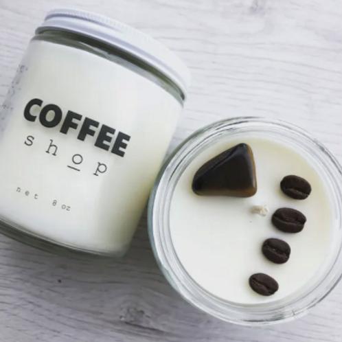 COFFEE SHOP 8OZ CANDLE