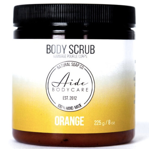 Orange Exfoliating Body Scrub