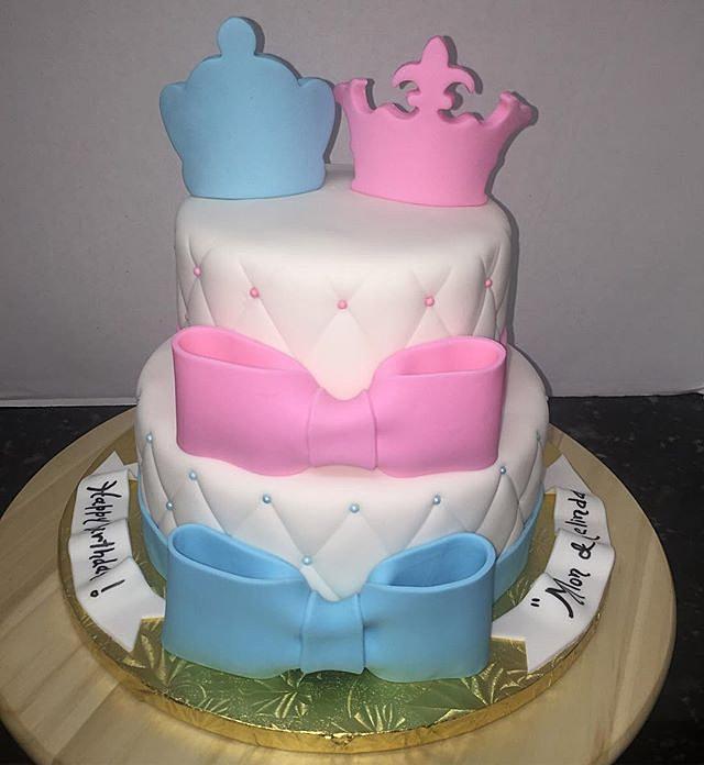 arly s cakes prince and princess birthday cake boy girl on cake birthday boy girl