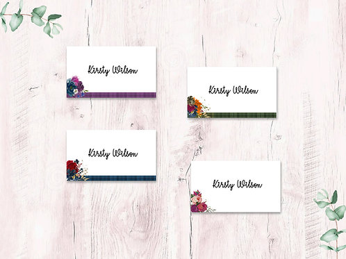 Place cards seasons collection